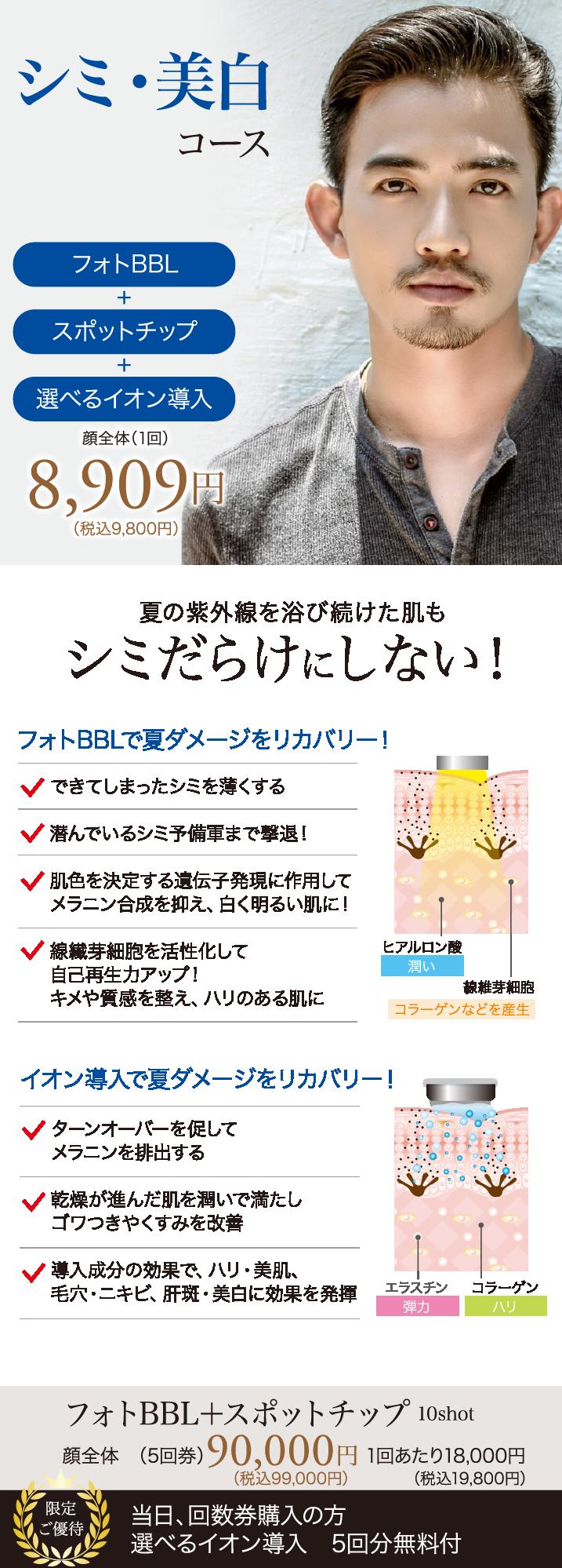 シミ・美白治療【フォトIPLの進化版】